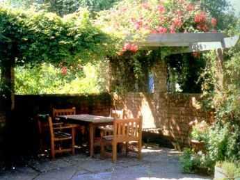 农村别墅屋顶花园图片